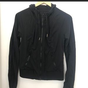 Lululemon black jacket size 4!